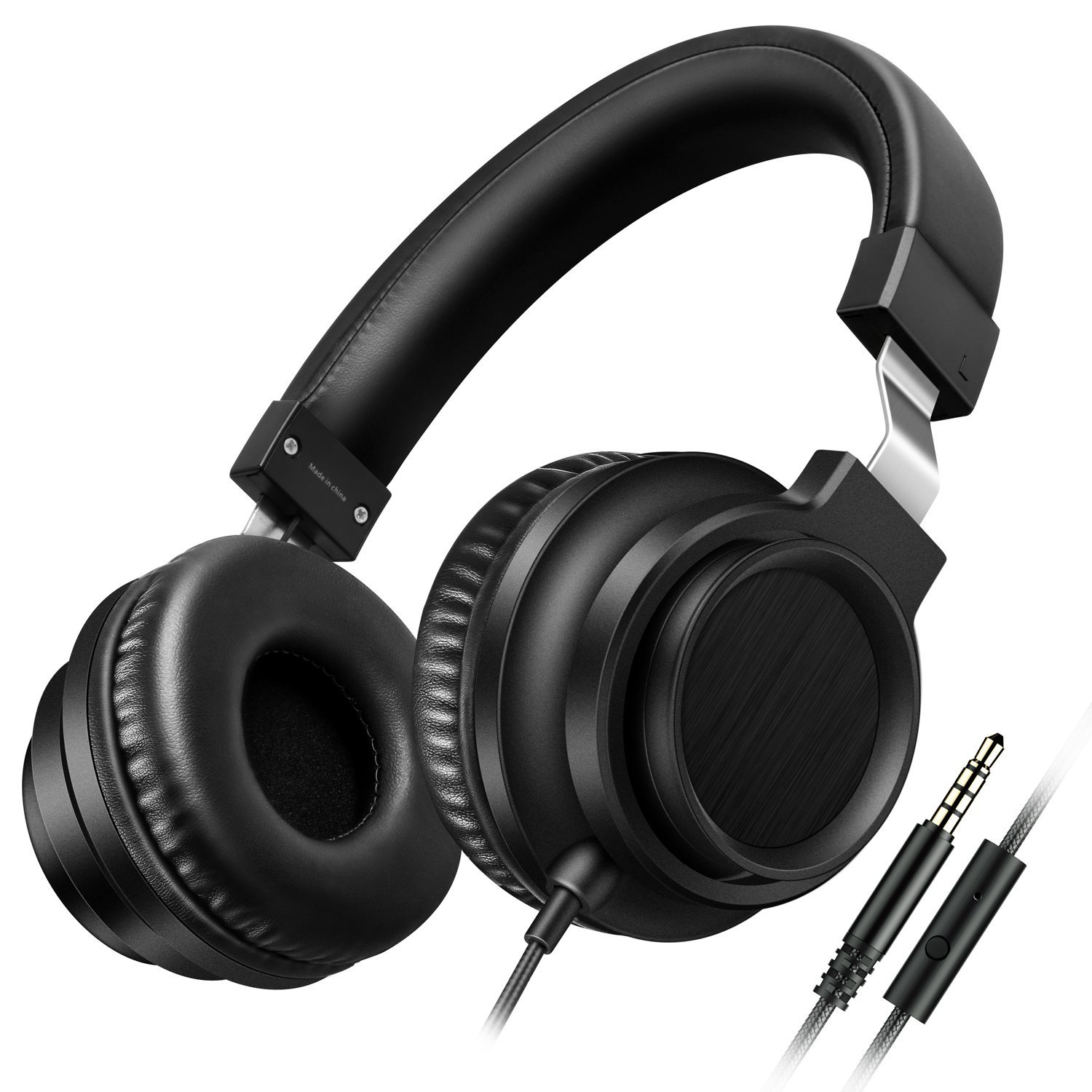 Sound Intone I8 Over-Ear Headphones with Microphone