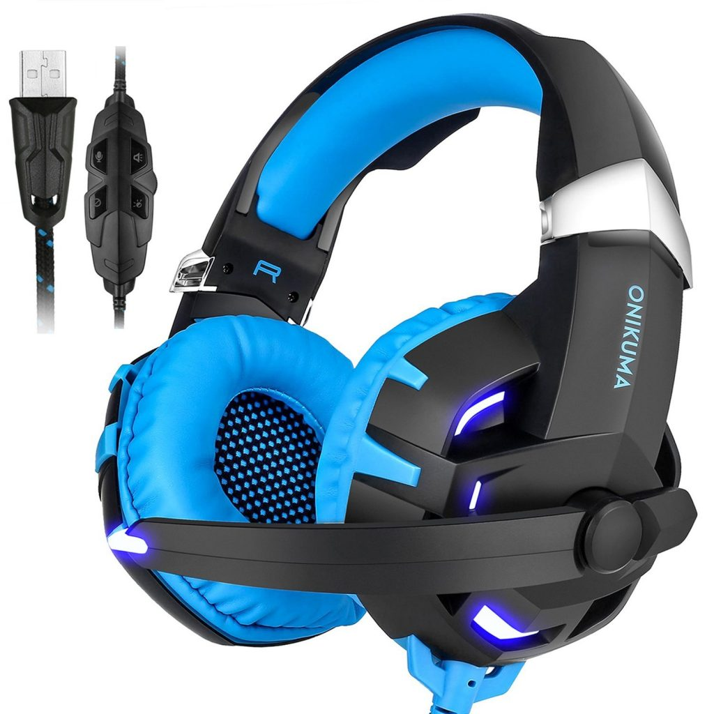 ONIKUMA Gaming Headset for PC