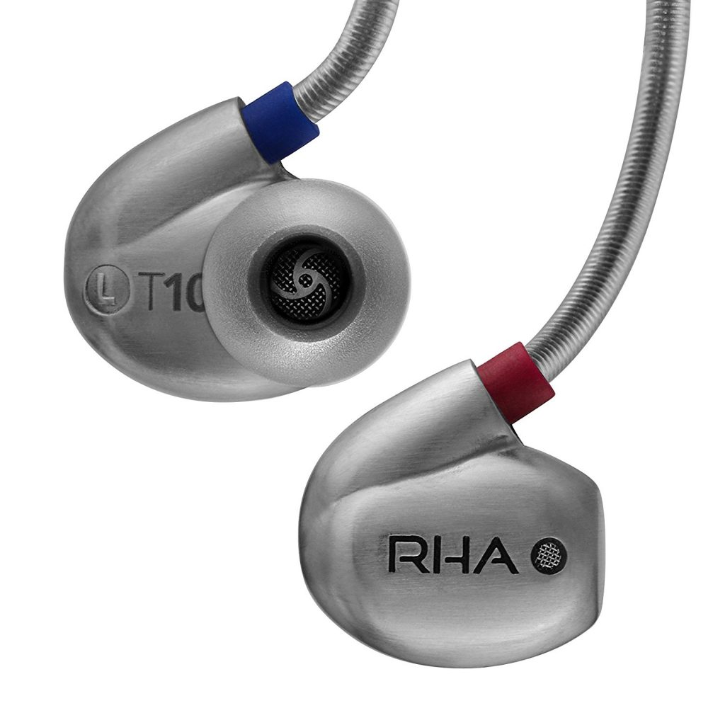 RHA T10 High Fidelity Noise Isolating In-Ear Headphone