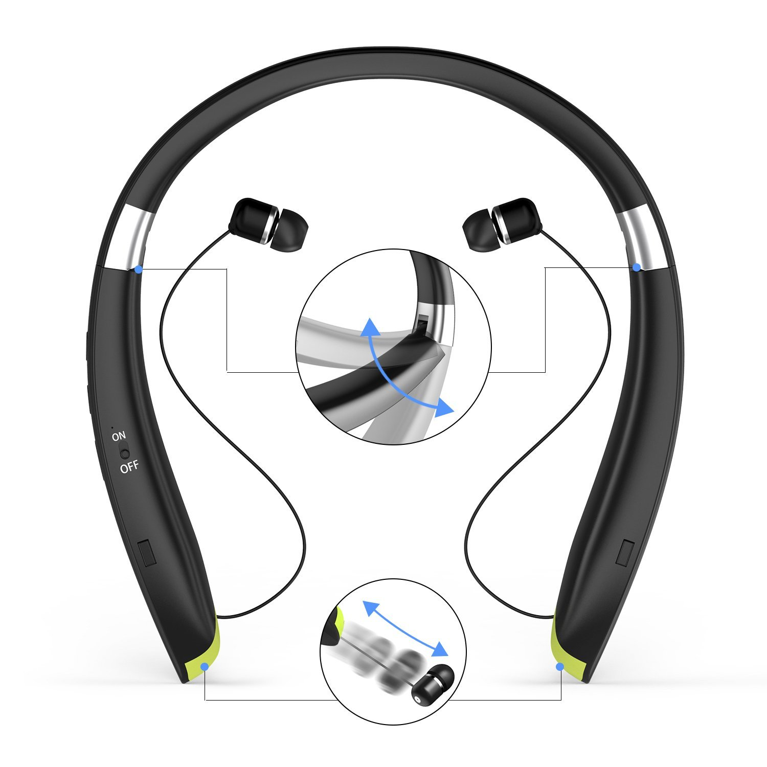 Best Around The Neck Bluetooth Headphones 2018 Buyer S Guide Reviews Headphones Geek