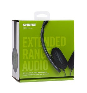 Shure SRH144 Semi-Open Portable Collapsible Headphones Review