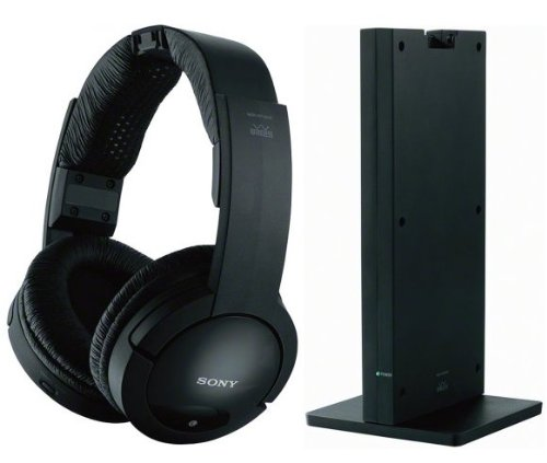 Sony Noise Reduction 150 feet Long Range Wireless Dynamic Stereo Headphones with Volume Control
