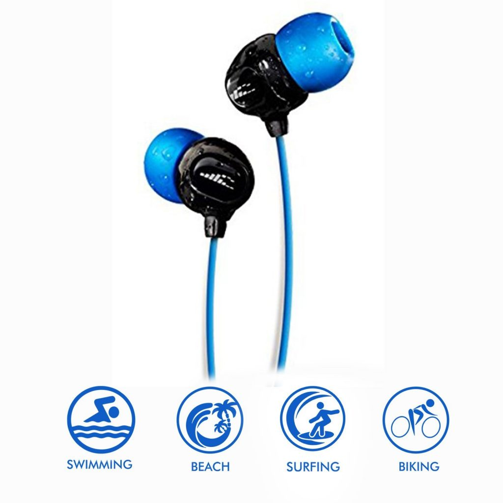 Waterproof Headphones for swimming - SURGE S