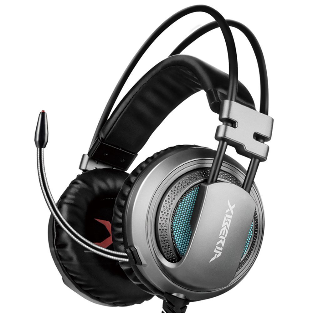 XIBERIA USB Headset with Microphone Surround Stereo